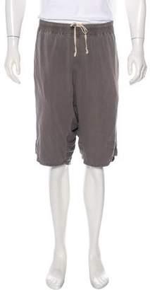 Rick Owens Harem Drop-Crotch Shorts