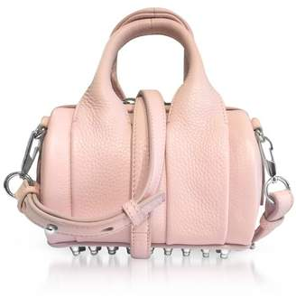 Alexander Wang Light Pink Soft Pebble Leather Baby Rockie Satchel Bag