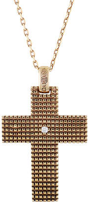 Damiani 18K Rose Gold & Rhodium Diamond Necklace