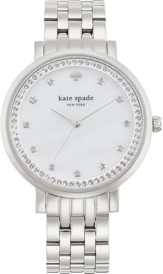 Kate SpadeKate Spade 1YRU0820 Monterey stainless steel and crystal watch