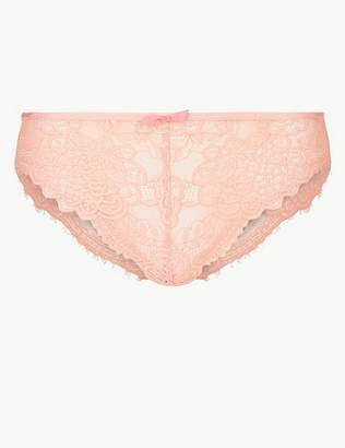 Marks and Spencer Lace High Leg Knickers