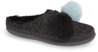 Toms Ivy Pom Faux Shearling Lined Slipper