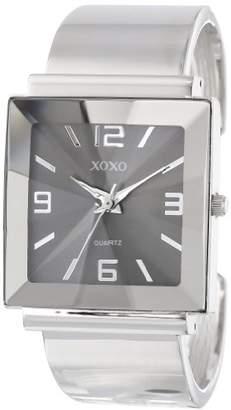 XOXO Women's XO1094 Silver-Tone Bangle Watch