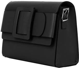 Brix And Bailey Belted Buckle Leather Shoulder Handbag
