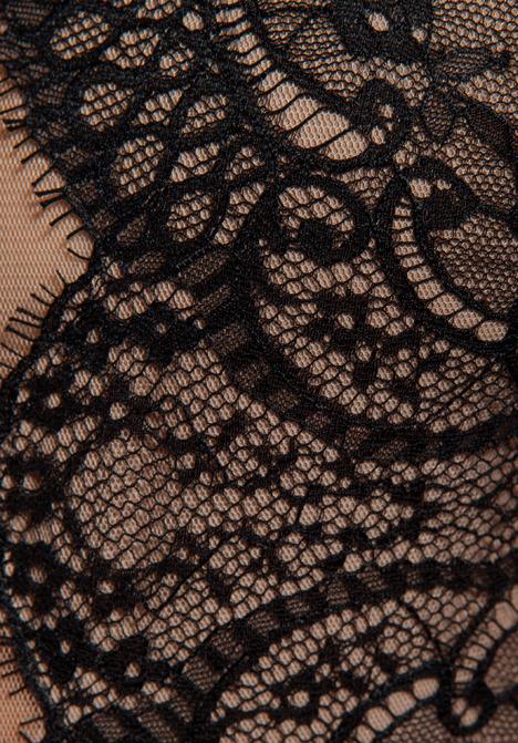 BCBGMAXAZRIA Layton Sleeveless Combo Dress