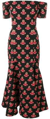 Temperley London Jupiter off shoulder dress