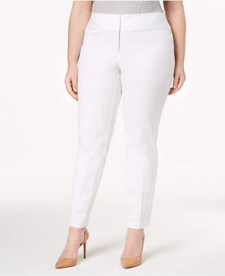 Alfani Plus & Petite Plus Size Straight-Leg Pants, Created for Macy's