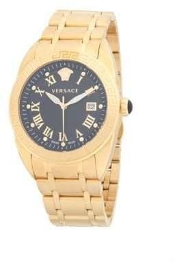 Versace Stainless Steel Analog Bracelet Watch