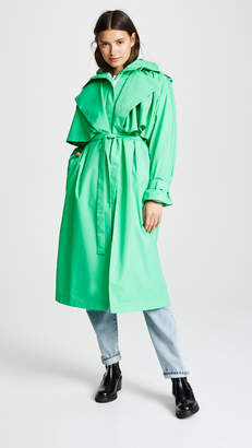 PASKAL clothes Puffer Coat with Trench Coat