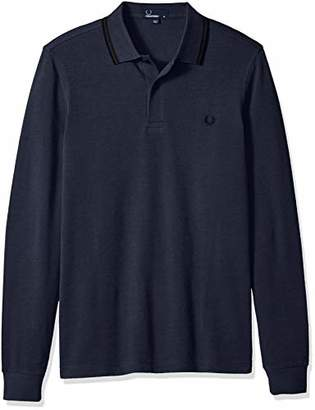 Fred Perry Men's Long Sleeve Twin Tipped Shirt