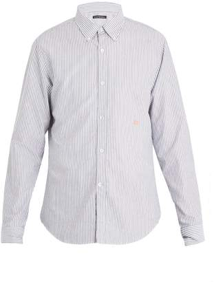 Acne Studios Ohio Face stripe cotton shirt
