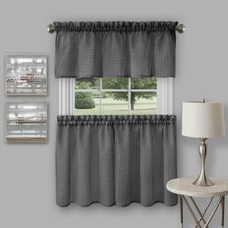 Richmond Achim Tier & Valance Kitchen Window Curtain Set
