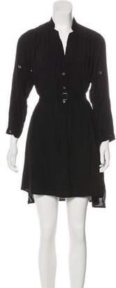 Ann Demeulemeester Button-Up Mini Shirtdress