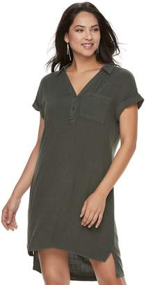 Rock & Republic Women's High-Low Shirtdress