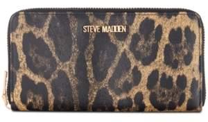 Steve Madden Natalie Webstripe Zip-Around Wallet