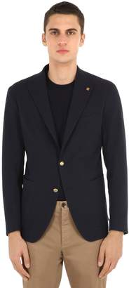 Tagliatore Cotton Seersucker Jacket