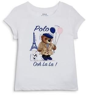 Polo Ralph Lauren Ralph Lauren Girls' Graphic Tee - Little Kid