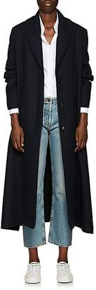 The Row Women's Dranner Cotton-Wool Belted Trench Coat