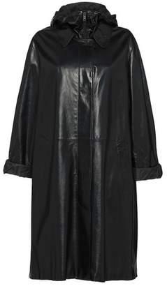 Prada Nappa Leather Coat