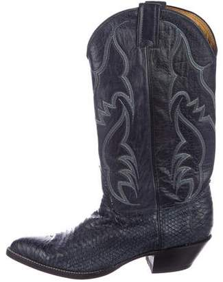 Nocona Boots Embroidered Leather Boots