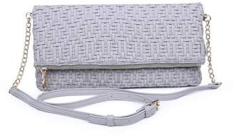 Urban Expressions Rooney Woven Clutch