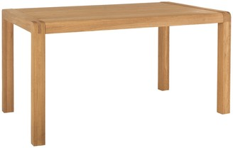 Radius 6 seat solid dining table