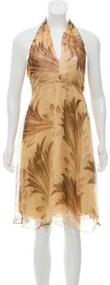 Ralph Lauren Silk Patterned Dress