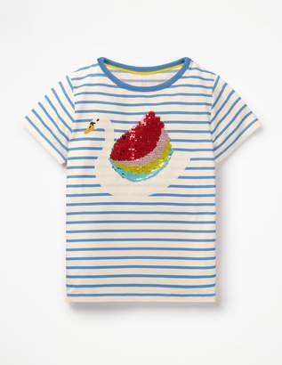 Boden Colour-change Sequin T-shirt