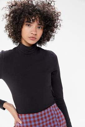 Truly Madly Deeply Backless Mock Neck Top