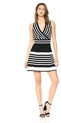 Parker Women's Madelina Sleeveless Cross Front Knit Dress