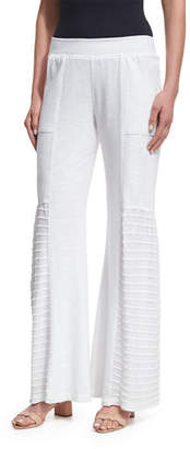 XCVI Melanie Slub Terry Wide-Leg Pants, Plus Size