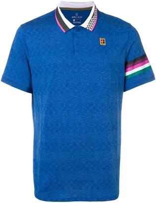 Nike embroidered logo polo shirt