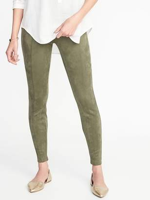 Old Navy Stevie Sueded Ponte-Knit Pants for Women
