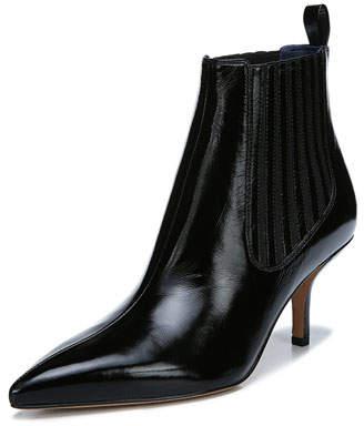 Diane von Furstenberg Mollo Pointed Leather Booties