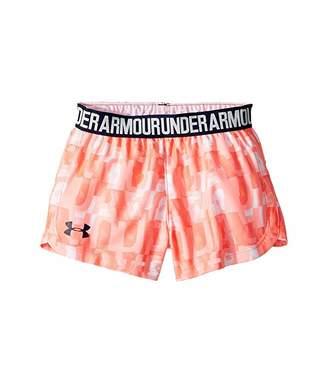 Under Armour Kids Linear Wordmark Play Up Shorts (Little Kids)