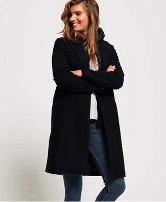 Superdry Fjola Tech Wool Coat