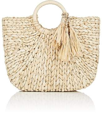 Barneys New York WOMEN'S SMALL STRAW TOTE BAG