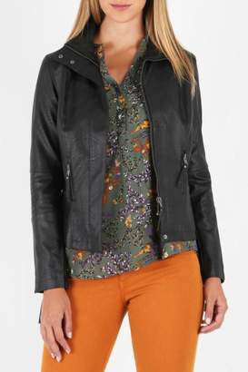 KUT from the Kloth Faux Leather MotoJacket