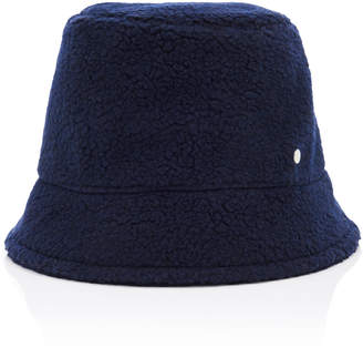 Maison Michel Souna Fleece Bucket Hat Size: S