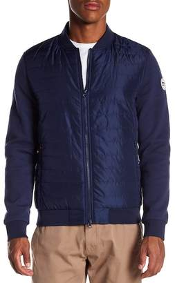 Knowledge Cotton Apparel Quilted Bomber Jacket