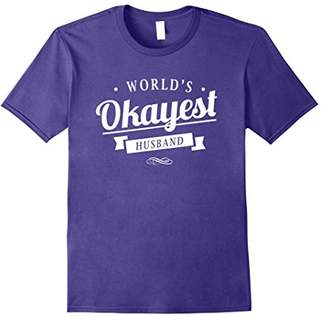 World's Okayest Husband - T Shirt