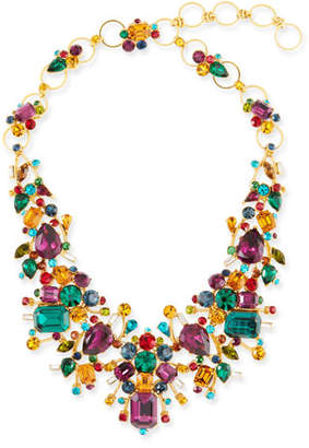Jose & Maria Barrera Large Multicolor Stone Necklace