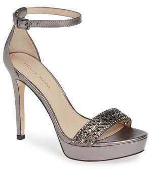 Pelle Moda Olivia Embellished Platform Sandal