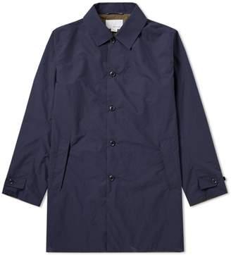 Nanamica Micro Polyester Taffeta Soutien Collar Coat