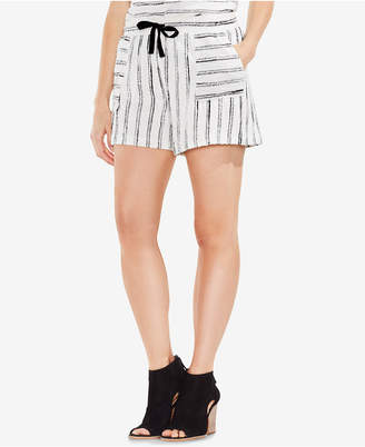 Vince Camuto Striped Drawstring Shorts