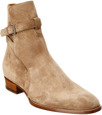 Saint Laurent Wyatt Suede Boot