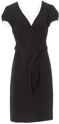 Armani Collezioni Black Synthetic Dresses