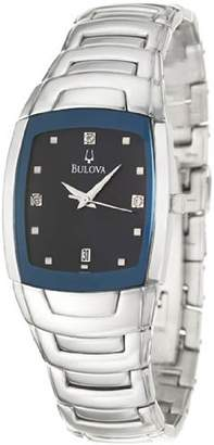 Bulova Diamonds Men's Quartz Watch 96D20