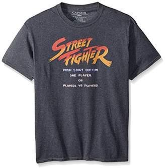 American Classics Street Fighter Start Screen Adult Short Sleeve T-Shirt