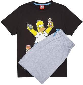 Burton Mens Homer Beer Pyjama Set